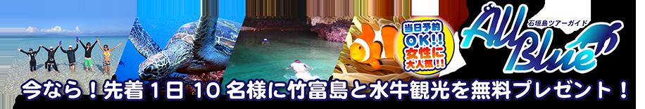 石垣島ツアーガイド ALL BLUE